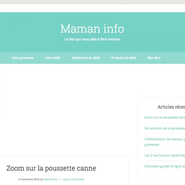 Maman info