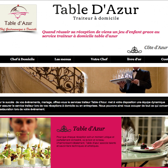 Table D'azur